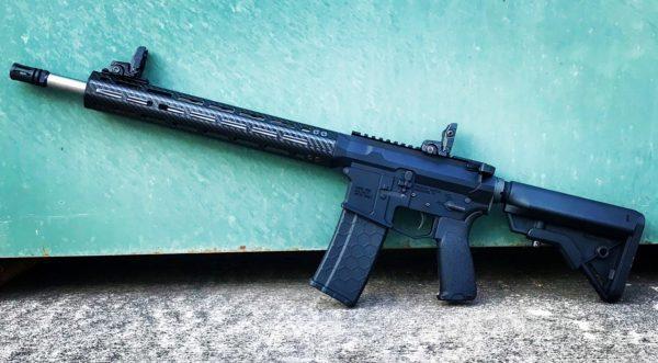AR Rifle Carbon Fiber Handguard